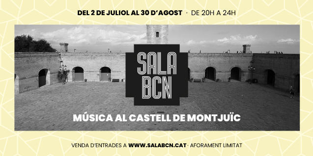 Imagen promocional de la iniciativa Sala Barcelona