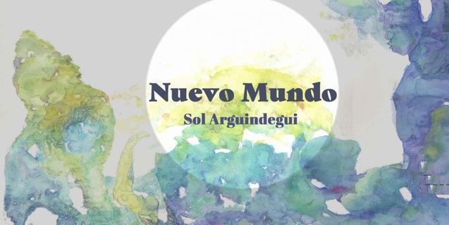Un dels paisatges amb objectes sortits del mar de l'artista Sol Arguindegui