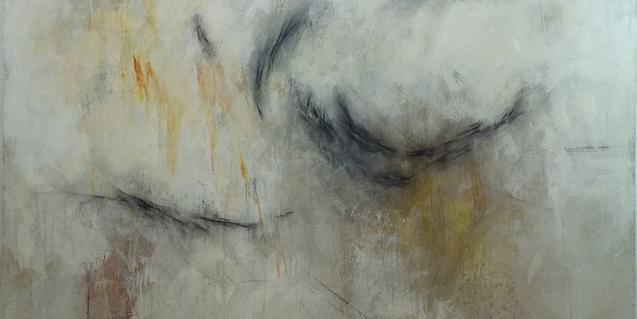 Imatge parcial d'una de les obres recents de Codina