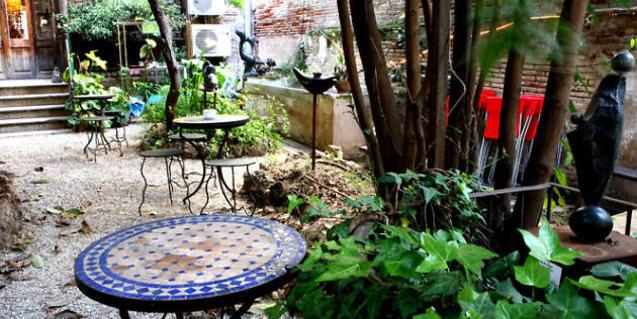 El jardí de l'Olokuti