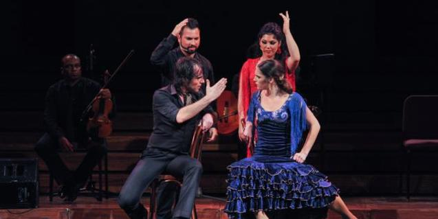 Un moment de l'espectacle 'Ópera y Flamenco'