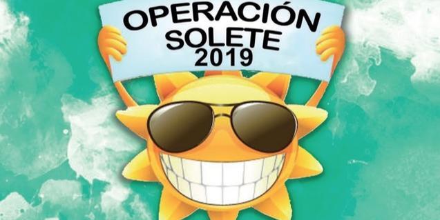 El dibuix d'un sol amb ulleres fosques serveix de cartell per anunciar les activitats