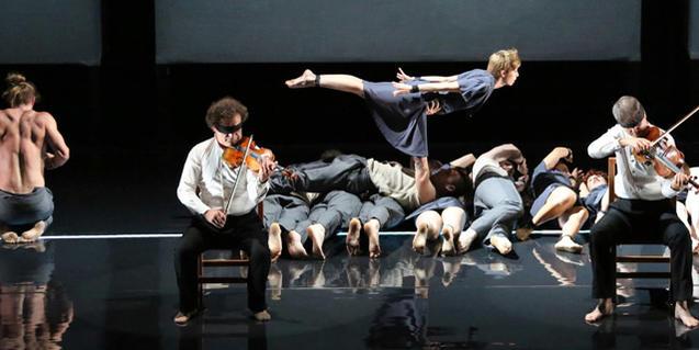 Una escena de l'espectacle 'Opus'