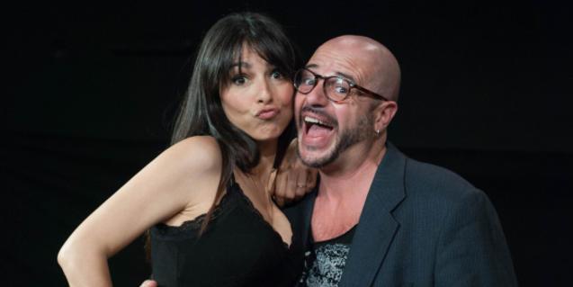 Els dos protagonistes de l'obra 'Orgasmos'