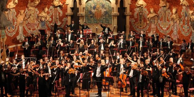 L'Orquestra Simfònica del Vallès al Palau
