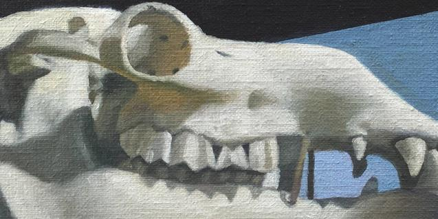Una de les obres que l'artista Francisco Denegri mostra a El Catascopio
