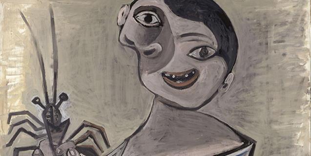 'Nen amb llagosta', de Pablo Picasso