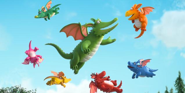'Zog, dracs i heroïnes' forma part del catàleg de Rita&Luca Films.