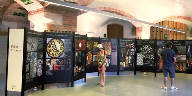Una imatge de l'exposició 'El Palau dels Artesans'