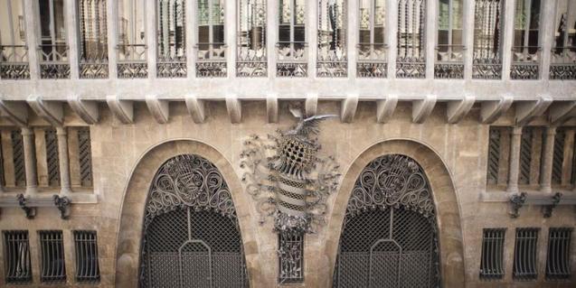 Entrada del Palau Güell