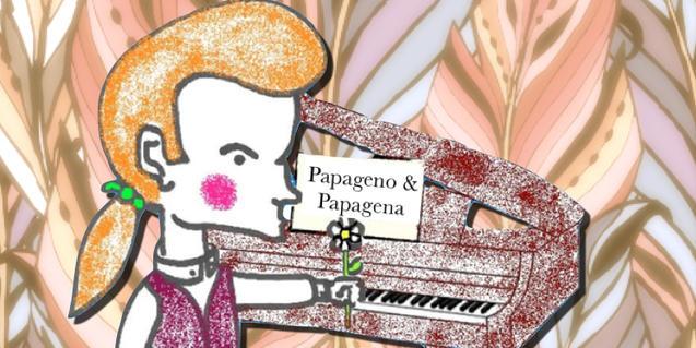 Cartel ilustrado del espectáculo