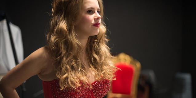 Una de las televisivas intérpretes de 'Paradise', Elisabet Casanovas
