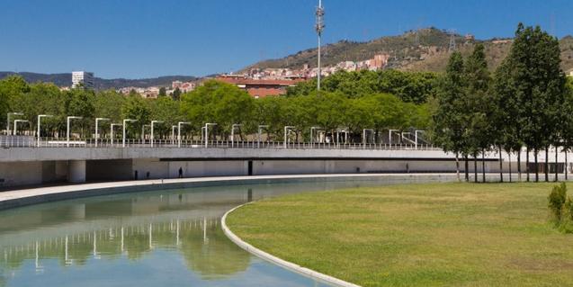El Parc de la Trinitat, donde tendrá lugar la final de la 'Roda de Monòlegs'