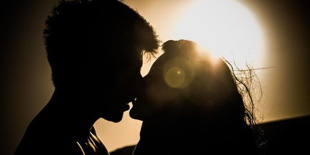 Imatge d'una parella apassionada