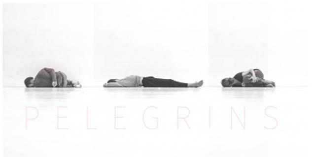 Cartell de l'espectacle de dansa 'Pelegrins'
