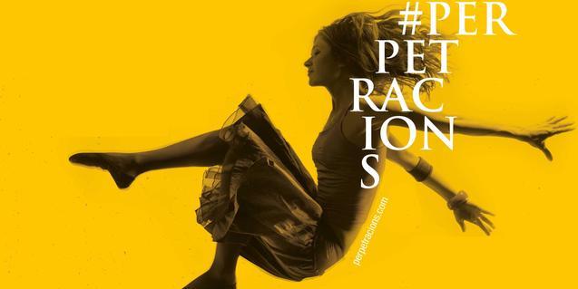 La figura de una bailarina dando un salto sirve de cartel a la edición de este año de este festival de performances