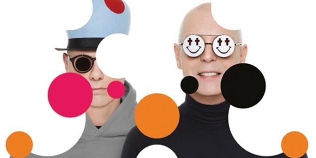 El dúo de pop electrónico Pet Shop Boys en una imagen promocional