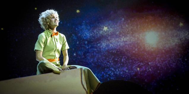Júlia Bonjoch interpreta el jove protagonista del musical.
