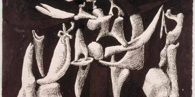 Obra que forma part de la mostra 'Picasso romànic'