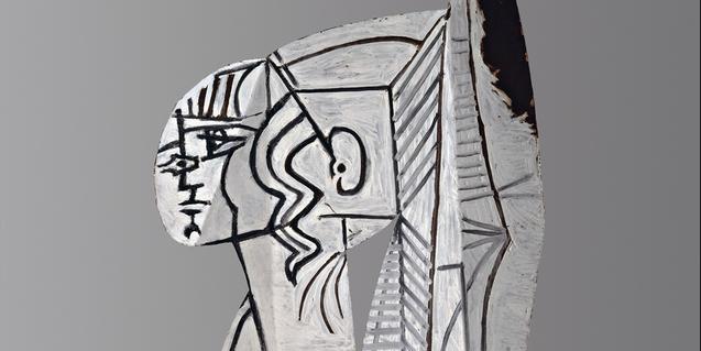 Una de las obras de la exposición Picasso. Retratos