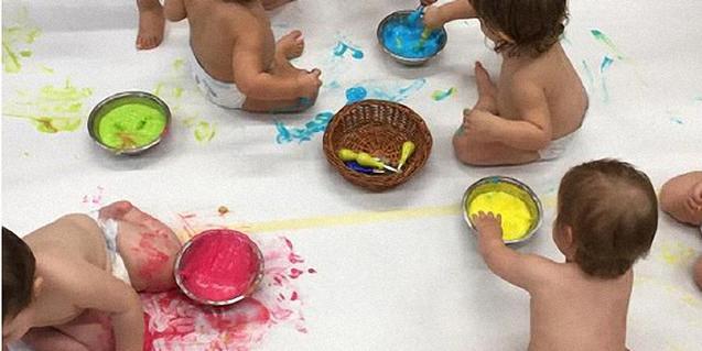 La pintura comestible pot fer-se a casa.