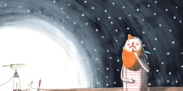 Ilustración interior del cuento