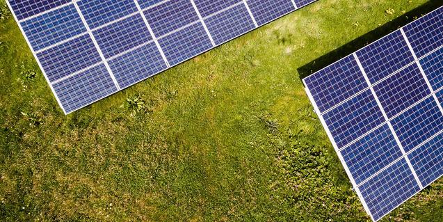Imagen de unas placas solares