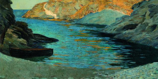 Una cala de Cadaqués según el pincel de Ramon Pichot