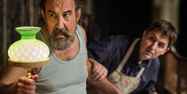 Imagen de los dos protagonistas de 'Polzet'.
