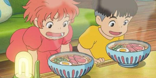 Fotograma de la película Ponyo
