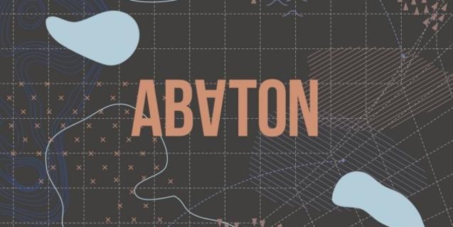 Detalle del cartel que anuncia el ciclo 'Abaton'