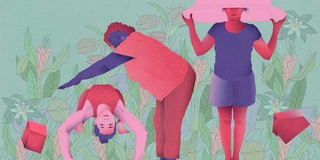 Cartell del Premi Joves Creadores 2020, de Maria Romero