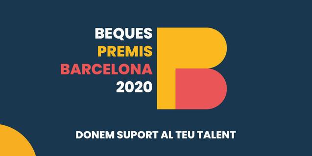 Imatge de les Beques 'Premis Barcelona 2020'