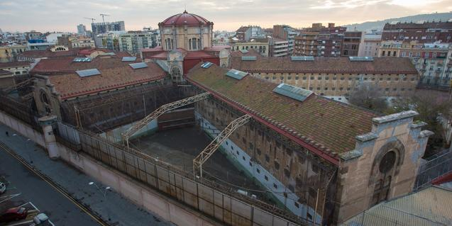 Imagen aérea de la cárcel Modelo