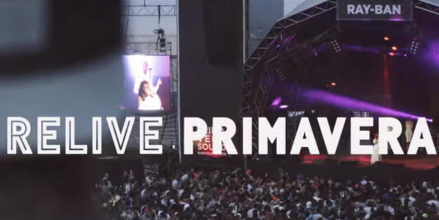 Relive Primavera uploads concerts from past editions so that you can enjoy them from home