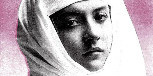 La portada del nuevo disco de la banda muestra una mujer con la cabeza envuelta en un turbante