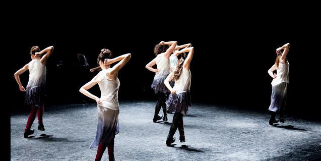 La compañía de Sharon Lavi incorpora el 'tap dance' en sus espectáculos
