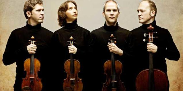 El Cuarteto Casals. Foto: Josep Molina