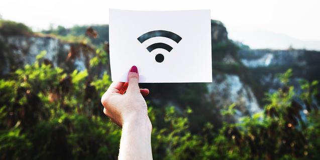 Imatge d'un senyal wifi
