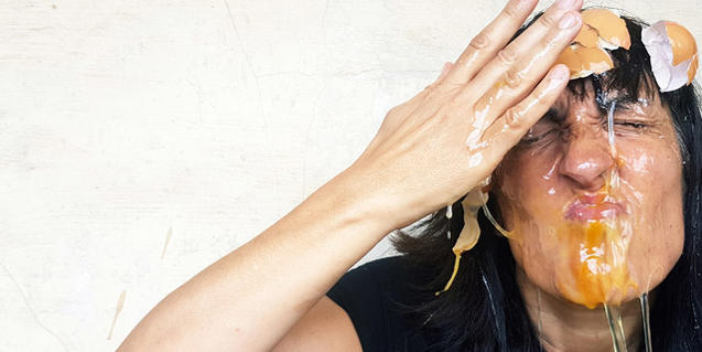 Agnès Mateus en una imatge promocional de l'obra