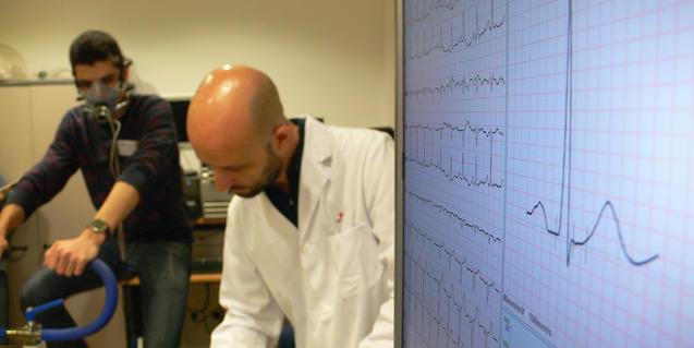 Imagen de pruebas cardiorespiratorias