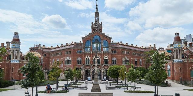 The guided tours of the Sant Pau Modernist complex are back