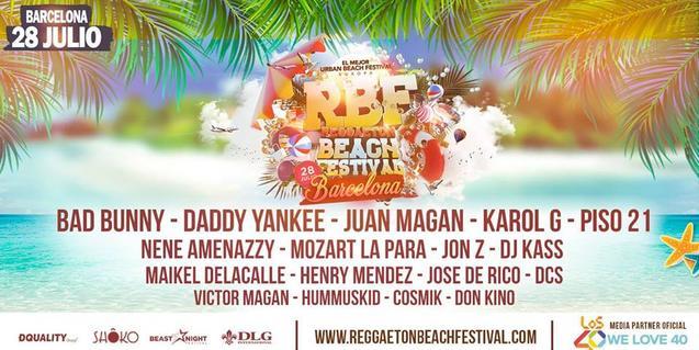 Reaggeton Beach Festival