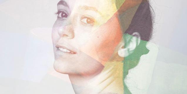 Retrat de Clara Vinyals, ànima d'aquest projecte musical