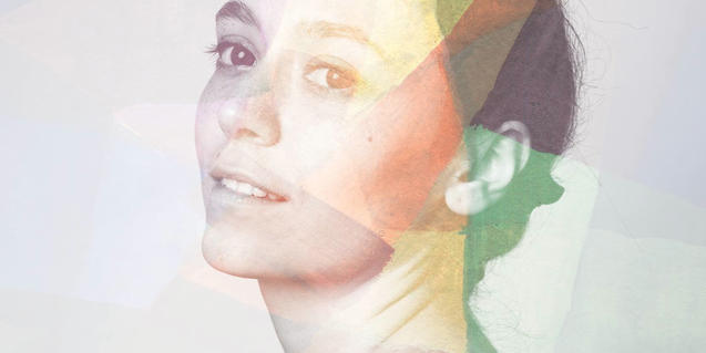 Retrato de Clara Vinyals, alma de este proyecto musical