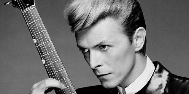 Un retrato del músico David Bowie