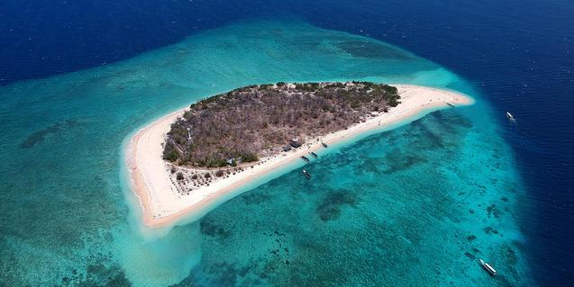 Una illa a Indonèsia