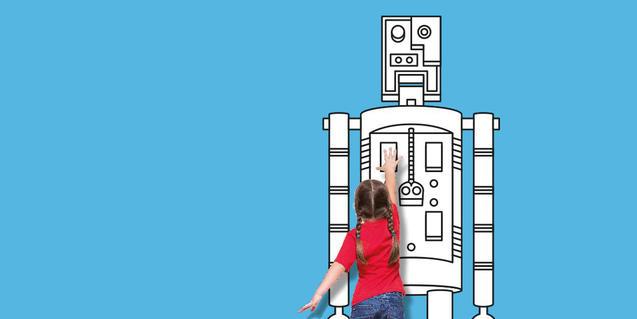 Imatge d'operació robots