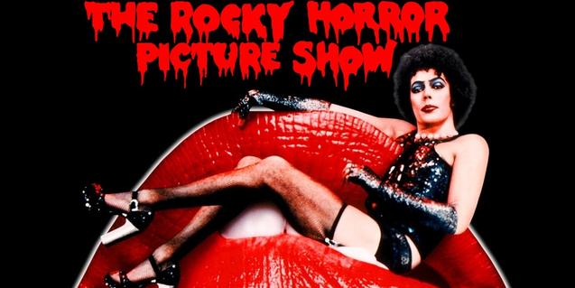 L'actor i rocker Tim Curry, al cartell de la pel·lícula