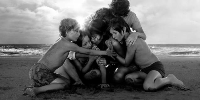 Film still from 'Roma' by Alfonso Cuarón
